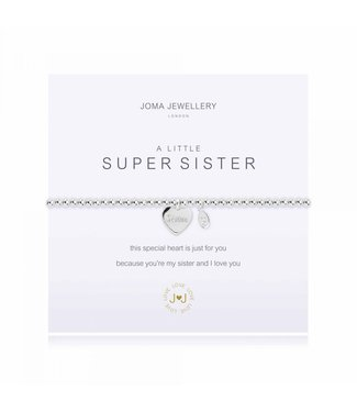 Joma Jewellery A little Super Sister