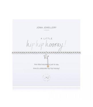 Joma Jewellery A little Hip Hip Hooray stretch bracelet