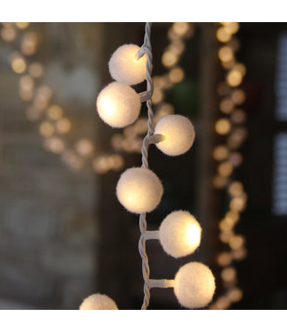Lightstyle London White Pom Pom lights