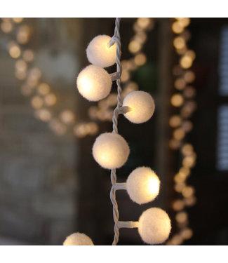 White Pom Pom lights