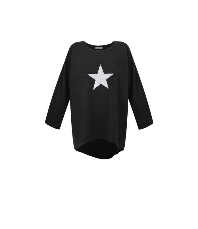 Chalk Robyn silver star top