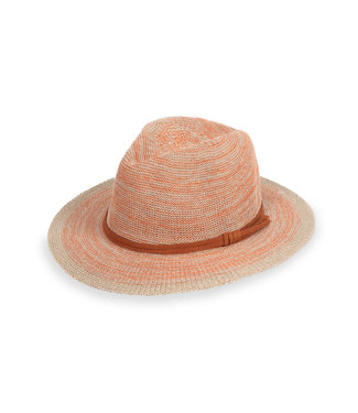 Powder Tangerine Natalie Hat