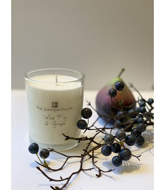 The Pamperhouse Wild Fig and Grape Candle