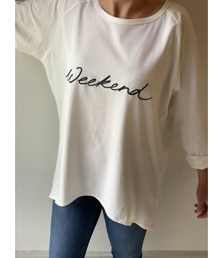Chalk Robyn weekend top