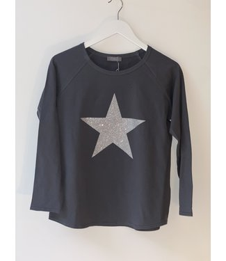Chalk Tasha top Silver Star