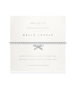 Joma Jewellery Facetted A Little Hello Lovely Bracelet
