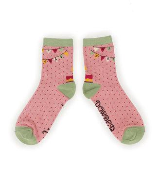 Powder Happy Birthday Bamboo Socks