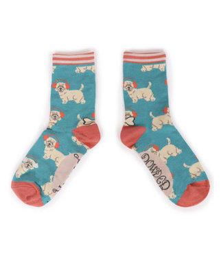 Powder Pooch Autumn Ankle Socks