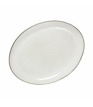 Lene Bjerre Amera Oval Dinner Plate White Sands