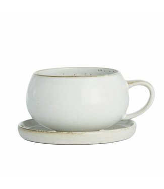Lene Bjerre Amera Cup and Saucer White Sands