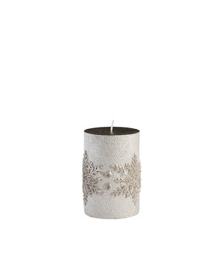 Lene Bjerre Small Silver Snowflake Candle