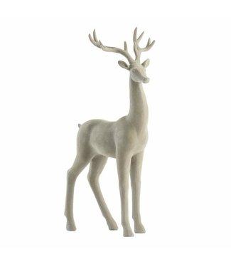Lene Bjerre Cashmere Velvet Deer Standing