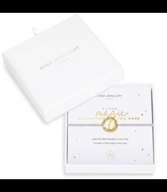 Joma Jewellery Beautifully Boxed magic is something you make bracelet