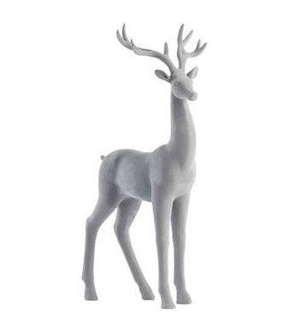 Lene Bjerre Grey Velvet Deer Standing