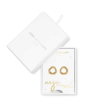 Joma Jewellery Magic is something you make Halo Boxed Earrings