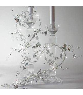 Lightstyle London Silver whisper led light chain - battery