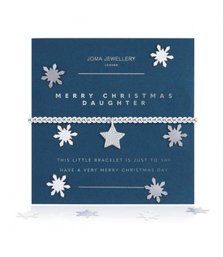 Joma Jewellery A little Merry Christmas Daughter
