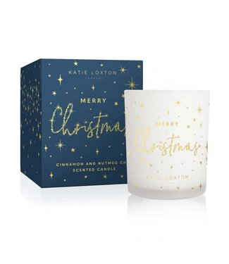 Katie Loxton Festive Soy Candle Merry Christmas