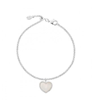 Joma Jewellery Pearlina Mother of Pearl Heart Bracelet