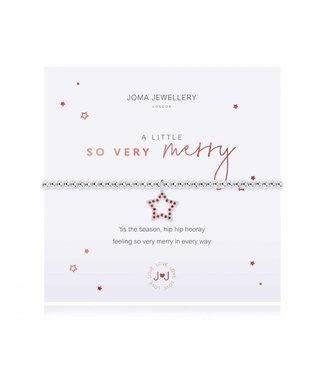 Joma Jewellery A little So Very Merry Stretch Bracelet