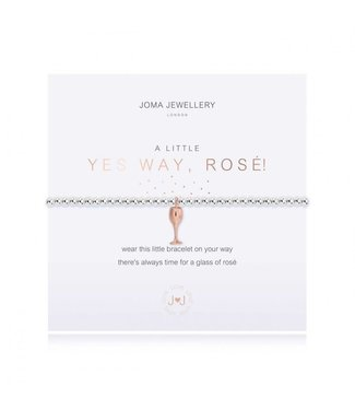 Joma Jewellery A little Yes Way Rose stretch bracelet