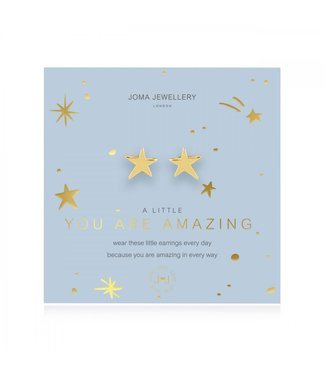 Joma Jewellery A little you are amazing earrings