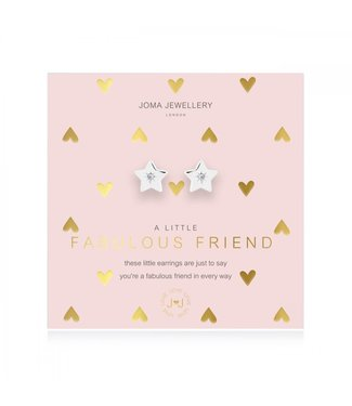 Joma Jewellery A little fabulous friend earrings