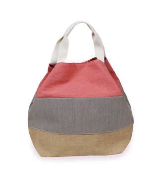 Powder Coral Boho Bag
