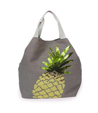 Powder Stone Pineapple Boho Bag