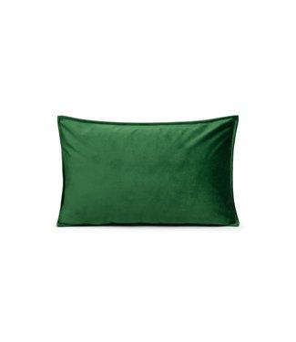Chalk Lawn Green Velvet Cushion