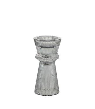 Lene Bjerre Small Grey Sivia Candlestick