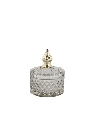 Lene Bjerre Small Light Grey Miya Jar