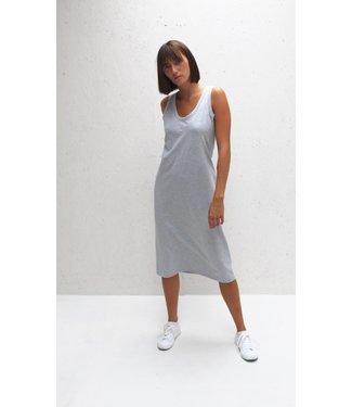 Chalk Marl Grey Rachel Dress
