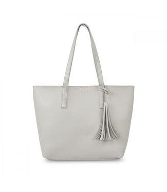 Katie Loxton Tavi Tassel Tote Bag in Grey