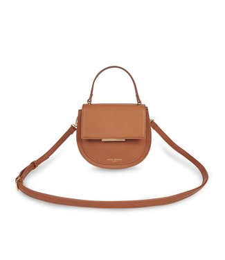 Katie Loxton Alyce Saddle Bag in Cognac