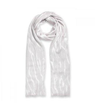 Katie Loxton Printed Zebra Scarf in Grey