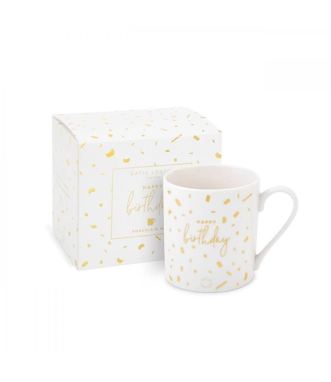Katie Loxton Happy Birthday Boxed Mug