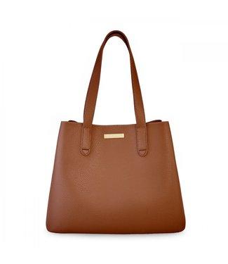 Katie Loxton Riley Shoulder Bag Cognac