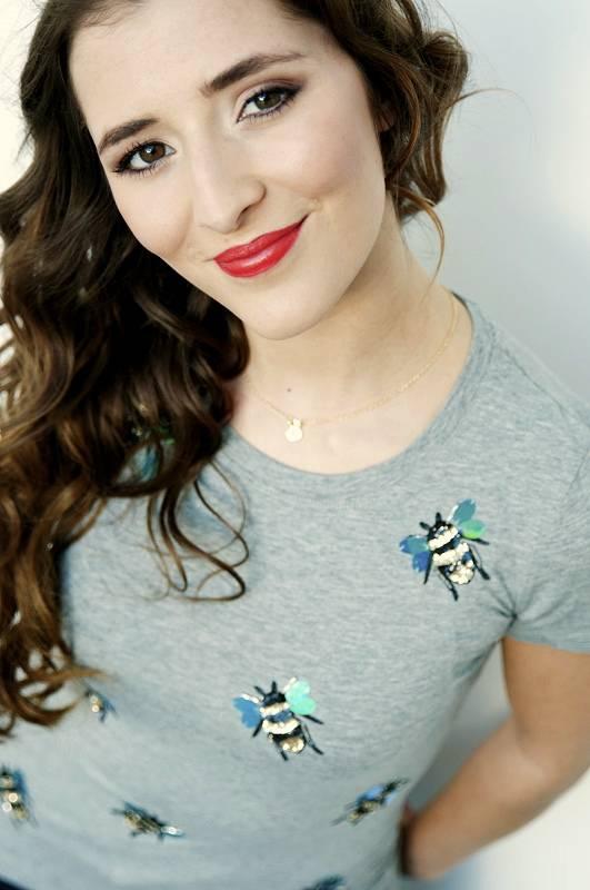 T-shirt Bee Unique Grijs