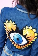 Jeans  blouse OJO DE DIOS