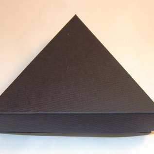 Present case triangle middle size