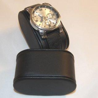 Uhrenkissen aus Kunstleder