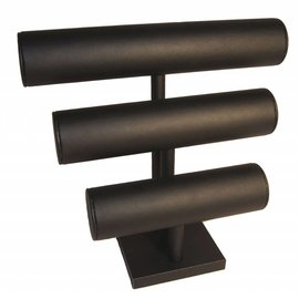Braclets stand with three rolls