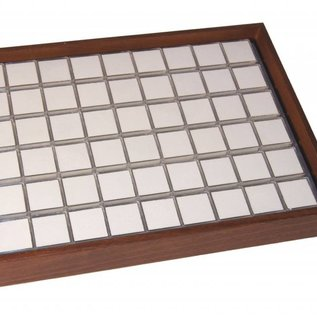 stacking tray content 54 boxes for gemstones