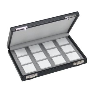 case content 12 boxes for gemstones, half size