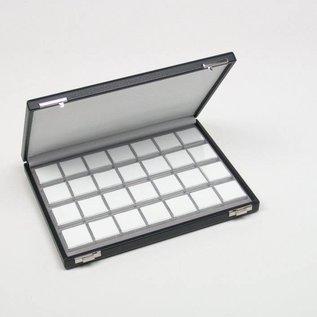 case content 28 plastic boxes for gemstones