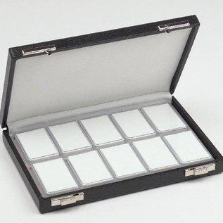 case content 10 plastic boxes, half size