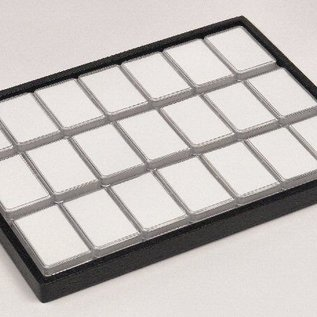 sliding tray content 21 plastic boxes for gemstones