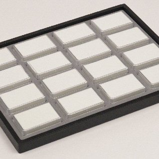 sliding tray content 16 plastic boxes for gemstones