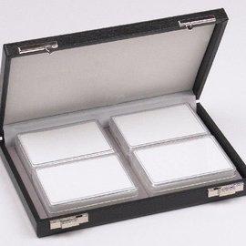 case content 4 plastic boxes, half size